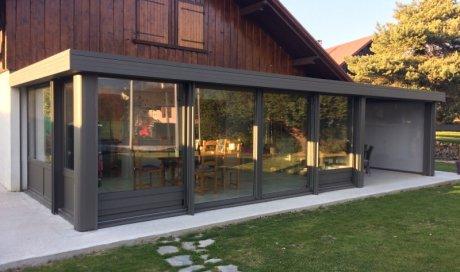 Pose et fabrication sur-mesure de véranda en Savoie