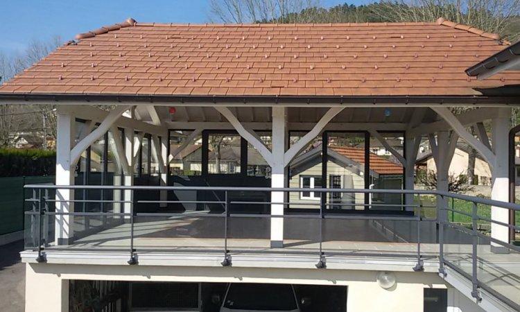 Installation garde corps à Aix les Bains