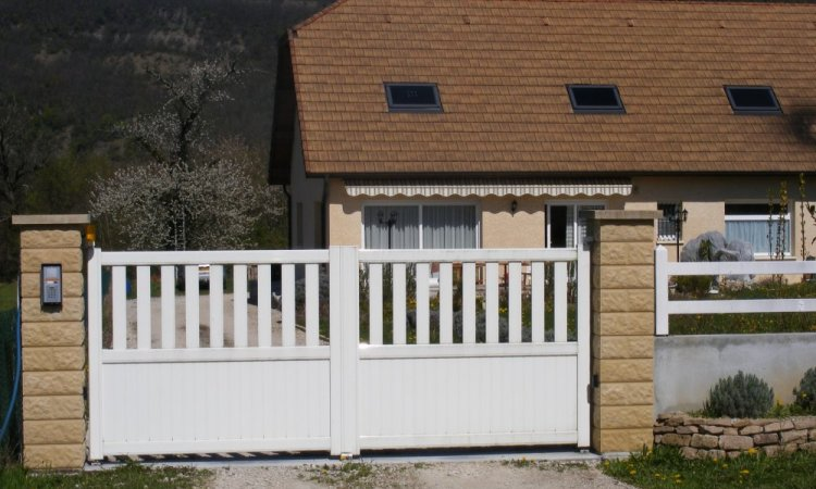Pose de portails et portillons à Chambéry