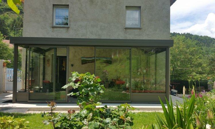 Fabrication et pose de vérandas en aluminium à Montmélian