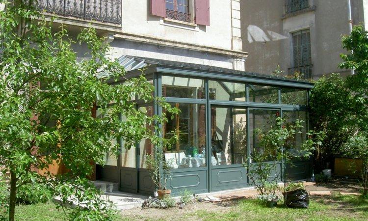 Vérandas colorées en aluminium à Chambéry
